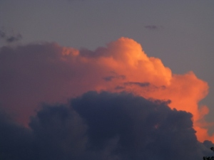 Evening Cloud