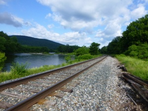 Green Mountain Traintracks