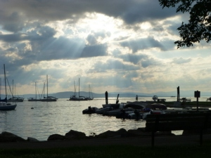 Evening, Lake Champlain