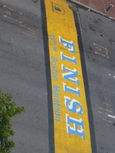 Marathon Finish Line, Boston