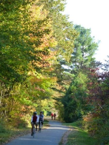 Autumn on the Bike Path